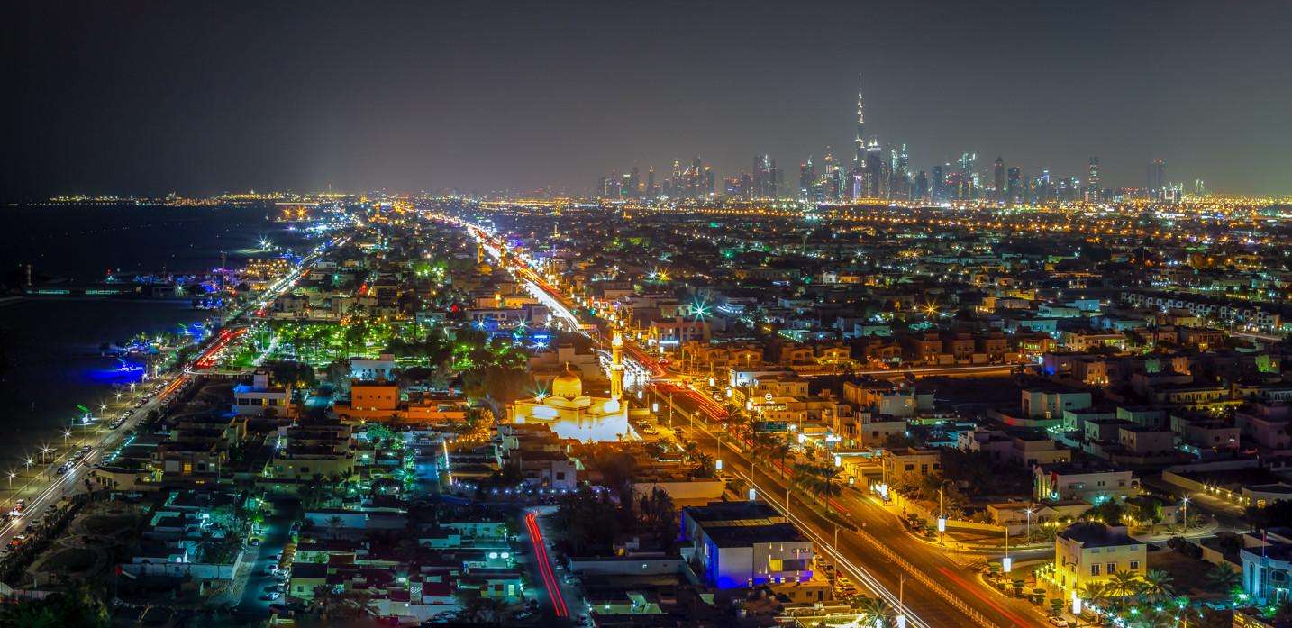 Dubaï Skyline Panorama