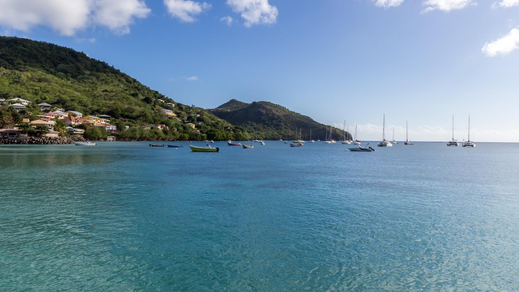 Paysage marin aux Anses d'Arlets