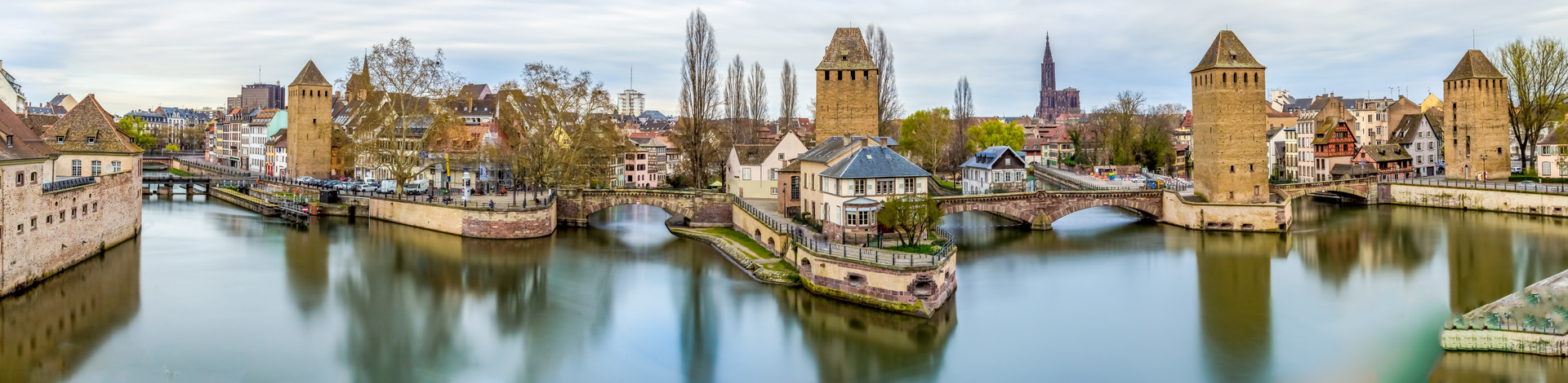 Panorama des Ponts Couverts