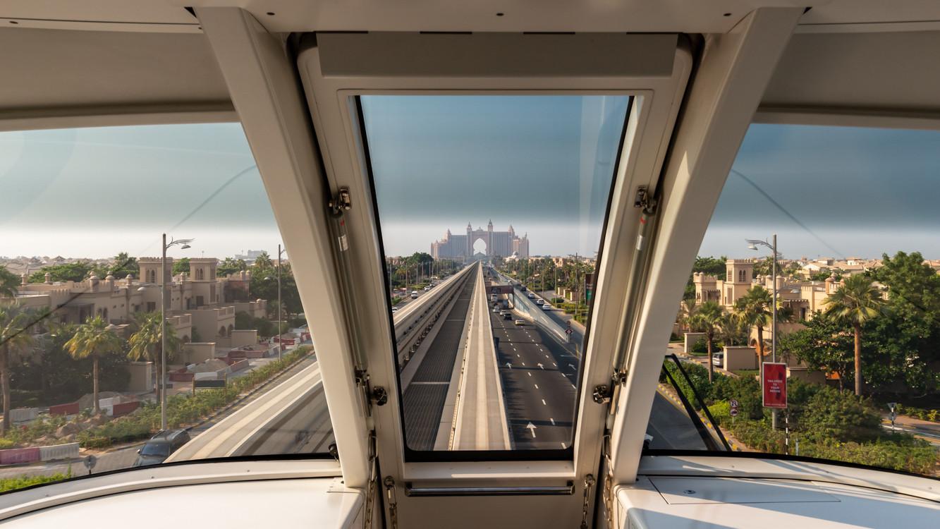 Dubaï Metro, Palm Jumeirah