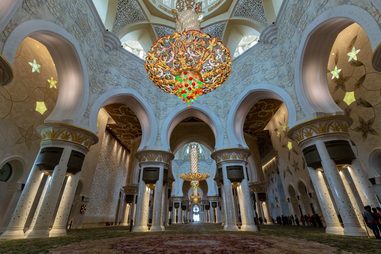 Abu Dhabi, Cheikh Zayed Mosquée