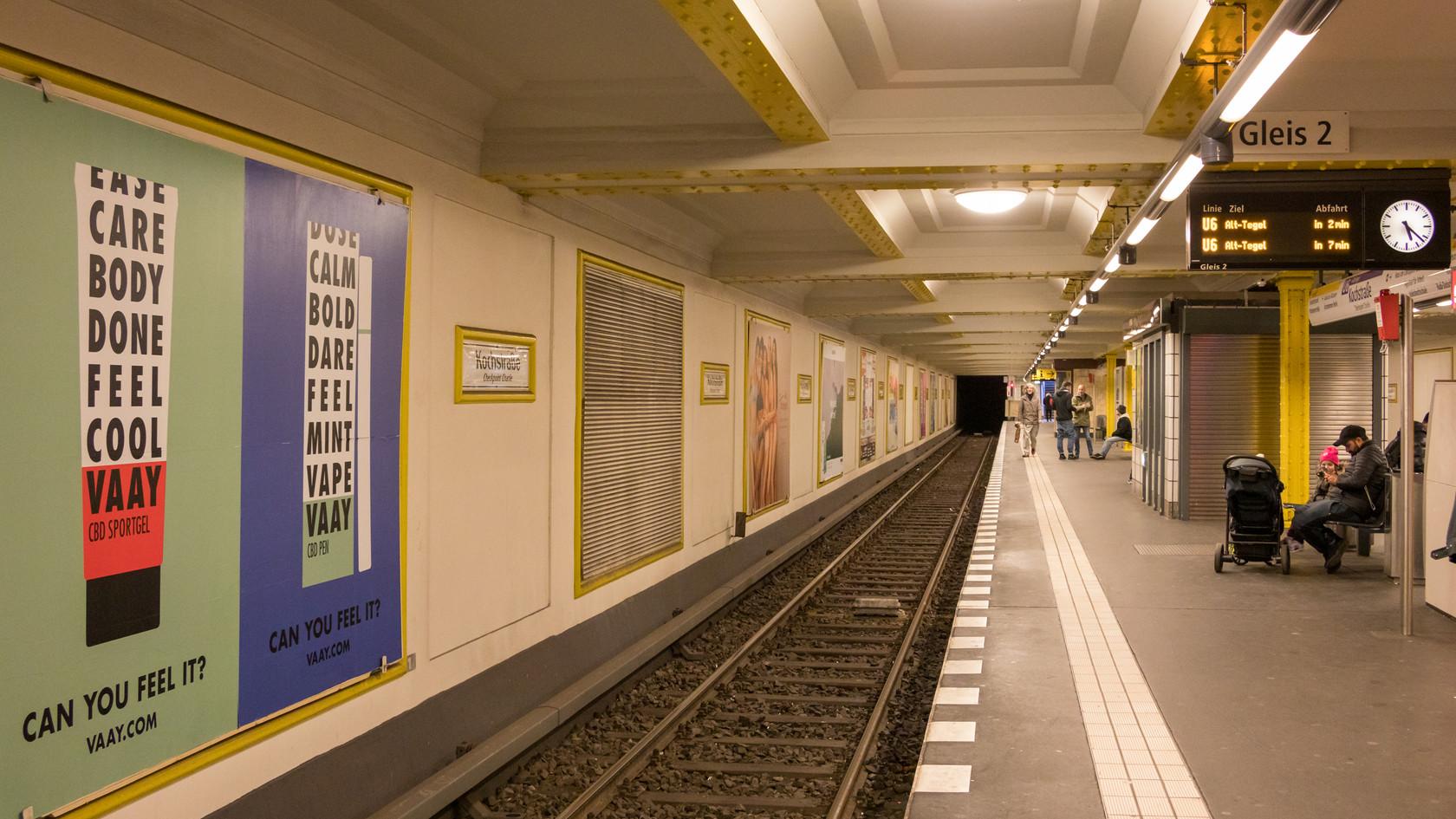 Station de Métro de Berlin