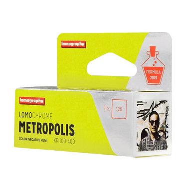 LOMOGRAPHY LOMOCHROME Metropolis XR 100-400 color 120 film