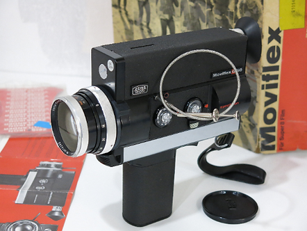 Zeiss Ikon Super 8 Movie Camera Movieflex G S8 VOIGTLANDER Carl Zeiss 6-60mm 2.8