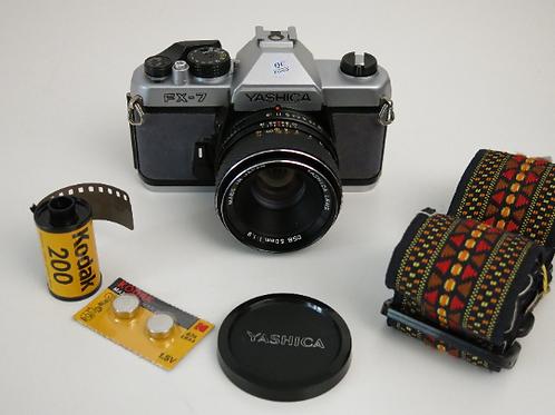Yashica FX-7 fully manual SLR Film camera 50mm lens
