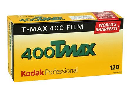 Kodak 400Tmax / 120 BLACK & WHITE FILM