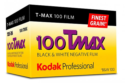 Kodak Tmax 100 / 36 exp. Black & White Film