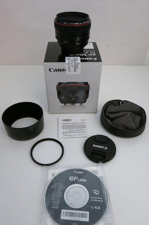 Canon EF 50mm 1.2 L USM Prime Lens