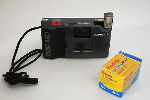 OLYMPUS Trip MD Point & Shoot Compact film camera
