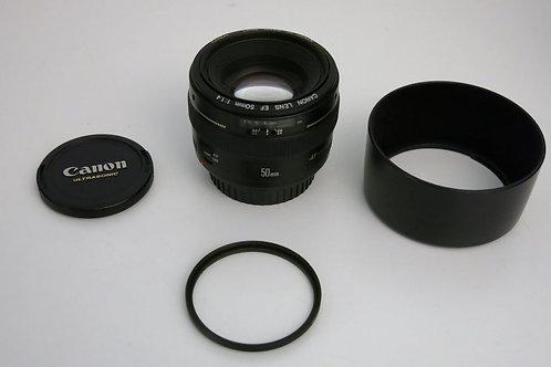Canon EF 50mm 1.4 Sharp Prime Lens