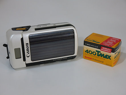 Canon Prima Sol Solar Powered Point And Shoot Camera, No Battery Required, 32mm