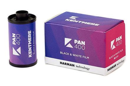KENTMERE 400 / 36 exp. Black & White Film