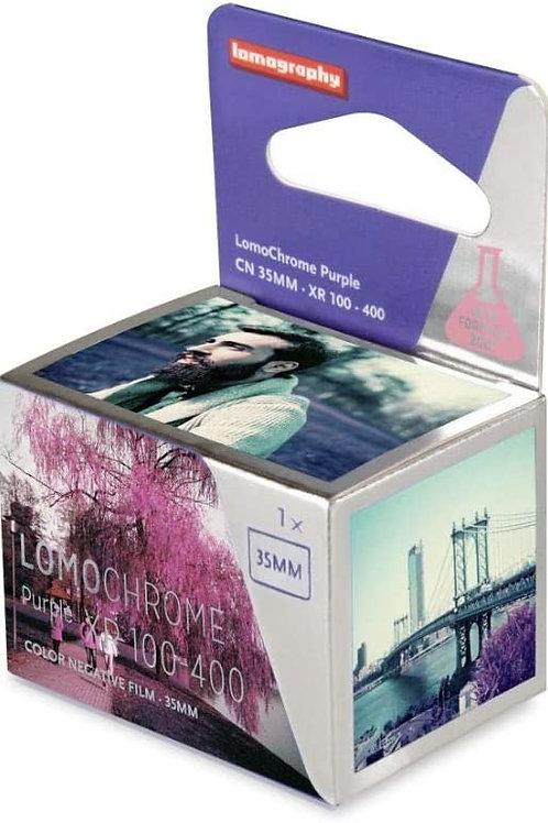 LOMOGRAPHY LOMOCHROME purple XR 100-400 color film