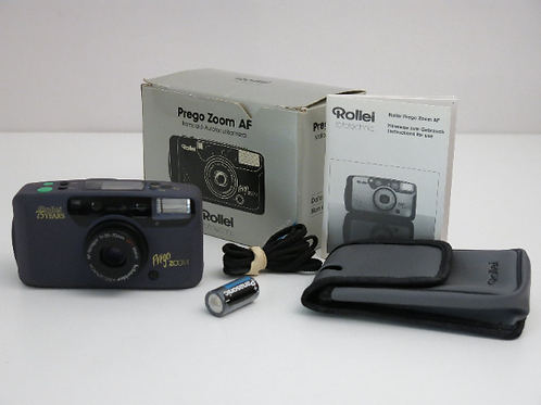 Mint Rollei Prego Zoom AF 75 Years Anniversary Edition