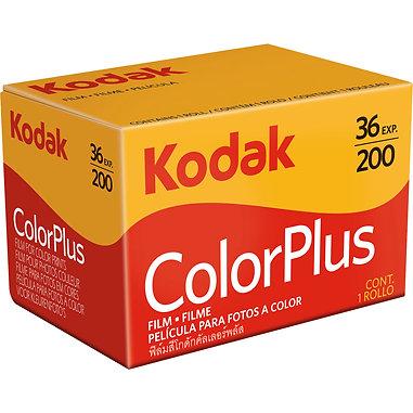 Kodak ColorPlus 200/36 exp. Color Film