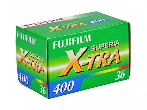 FUJIFILM SUPERIA X-TRA 400/36 exp. Color Film