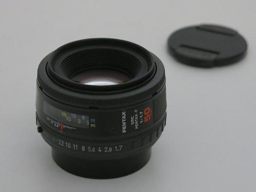 smc PENTAX- FA 50mm 1.7 Auto Focus Digital Fx Full Frame Prime lens