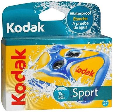 Kodak Sport Disposable 27 exp. Waterproof Color Camera