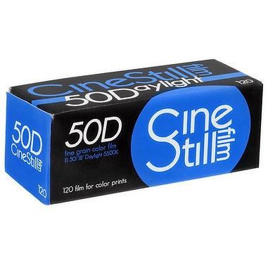 CineStill 120 / 50D Fine Grain Color film