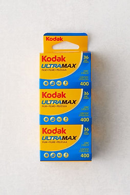 Kodak ULTRAMAX 400/ 3x36 exp.pack of 3 Color film