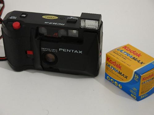 PENTAX PC35AF - M Compact film Camera 35mm 2.8 Sharp Lens