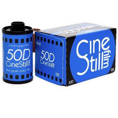 CineStill 50Daylight / 36 exp. Color film.