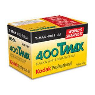 Kodak TMAX 400 / 36 exp. Black & White Film