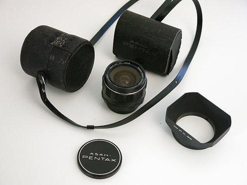 Mint Super-Multi-Coated Takumar 28/1:3.5 Asahi Pentax Screw Mount lens