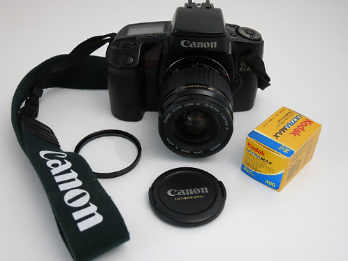 Mint Canon EOS ELAN + Canon EF 28-80 Af lens Fully functional Analog Film Camera