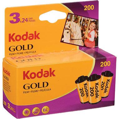 Kodak GOLD 200 / 3X24 exp. Color Film