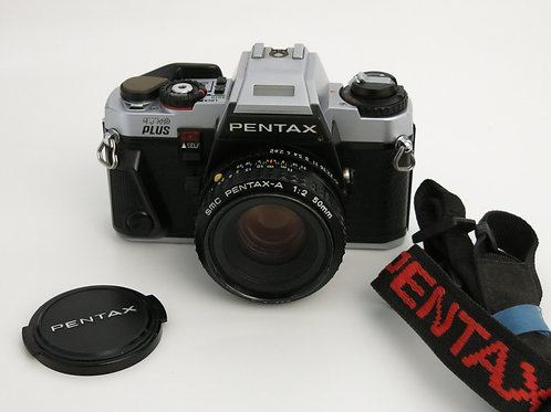Mint PENTAX PROGRAM Plus fully functional with SMC 50mm f:2.0
