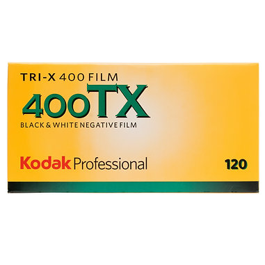 Kodak 400TX / 120 BLACK & WHITE FILM