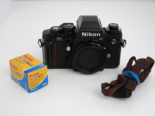 Nikon F3 Film Camera Body MF+ New Light Seals