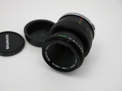 Olympus OM Auto Macro zuiko 50mm f 3.5 MACRO Lens