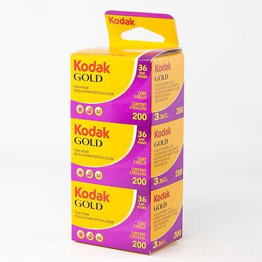 Kodak GOLD 200 / 3x36 exp. Color Film