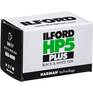 ILFORD HP5 PLUS 400/36 exp. Black & White Film