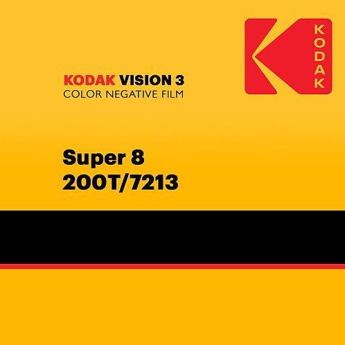 Kodak VISION3 Color Negative Film Super 8 - 200T/7213