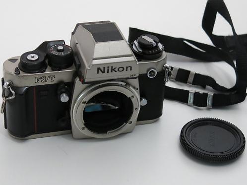 Nikon F3T HP Champagne Professional 35mm SLR Film camera