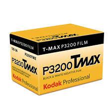 Kodak Tmax 3200 / 36 exp. Black & White Film