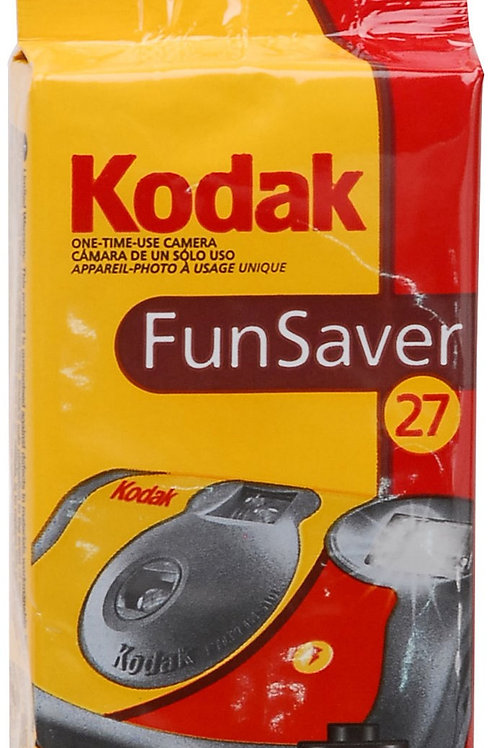 Kodak FunSaver Disposable 800/ 27 exp. Color Camera