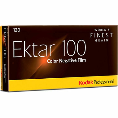 Kodak Ektar 100 / 120 Color Negative Film