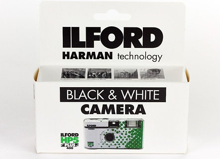 ILFORD HP5 400/27 exp. Black & White Disposibile Camera