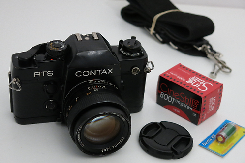 CONTAX RTS II Professional film camera with 50mm 1.4 sharp lens