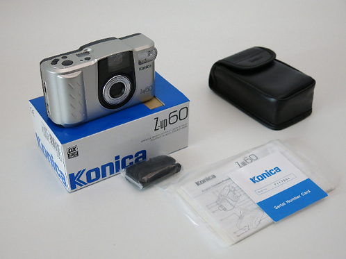 Konica Z-up 60 Compact 35-60mm Zoom Camera unused in box