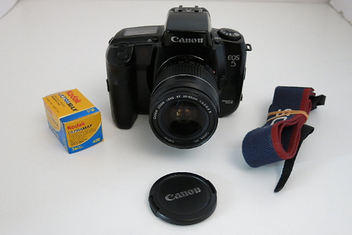 Canon EOS 5 Professional Film Camera with EF 28-80 Af lens