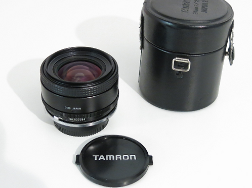 Tamron 24mm F2.5 lens for Nikon Film and Nikon digital SLR cameras