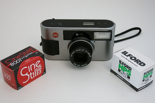 Unused in Box Leica C3 Compact 35mm Film Camera VARIO ELMAR 28-80