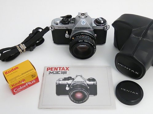 Mint Pentax ME SUPER Film Camera new Light Seals