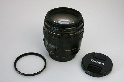 Canon EF 85mm 1.8 ULTRASONIC Portrait