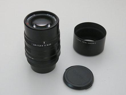 Near Mint Black Contax G 90mm 2.8 AF Carl Zeiss Sonnar T* Lens